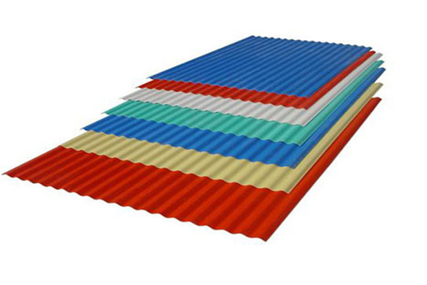 Color steel roof tile